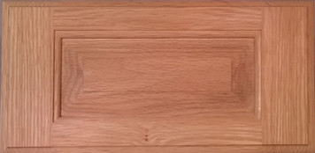 DTDF 1058HZ - Drawer Front Solid Wood - Red Oak