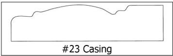 #23 Casing ¾ x 3 ½ x 8'