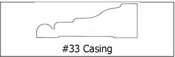 #33 Casing CC21 -¾ x 2 ¼ x 8'