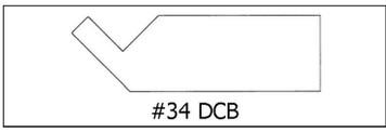 #34 DCB -¾ x 2 1/2