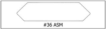 #36 ASM- 7/8x 3 7/16