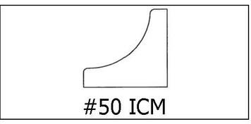 #50 ICM- ¾ x ¾ x 8'