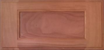 DTDF 1038HZ - Drawer Front - Walnut