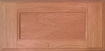 DTDF 1038HZ - Drawer Front Solid Wood - Red Oak