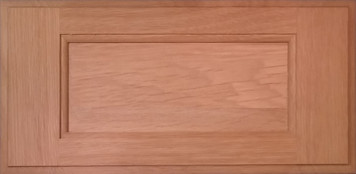 DTDF 1038HZ - Drawer Front Solid Wood - White Oak