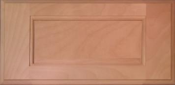 DTDF 1058HZ - Drawer Front Solid Wood - White Birch