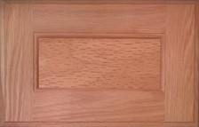 DTDF 1014HZF - Drawer Front - Plywood Red Oak