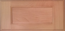 DTDF 1014HZ - Drawer Front - Plywood Hard Maple