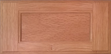 DTDF 1014HZ - Drawer Front - Red Oak Plywood
