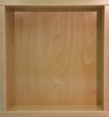 Unfinished Drawer Box Shown In Hard Maple