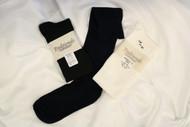 Cotton/Lycra Knee-High Sock