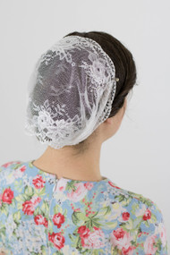 White Rose Head Wrap