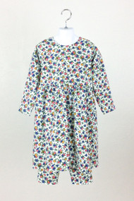 Floral Play Dress with Leggings