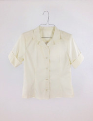 Ladies Cream Florence Blouse