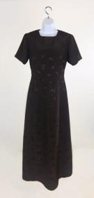 Dark Chocolate Simple Elegance Dress