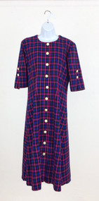 Ladies Plaid Lydia's Dress