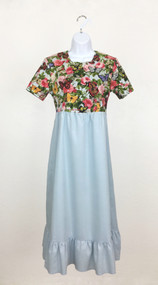 Ladies Butterflies and Roses Summer Dress