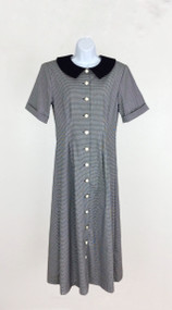 Lydia's Gingham Checked Dress Size M