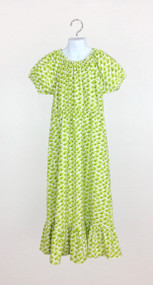 Girl's Lime Green Bird Dress