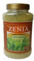 200g Zenia Henna Powder Bottle 100% Natural 500g