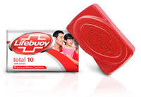 1 x Lifebuoy (Total 10) Bar Soap 120g