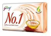 Godrej No 1 Saffron and Milk Cream Soap 68g
