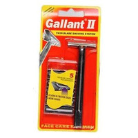 Gallant II Twin Blade Shaving System