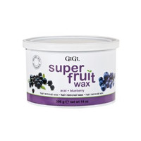 GiGi Super Fruit Wax with Acai + Blueberry 14 oz #0356