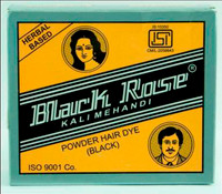 Black Rose Kali Mehandi Powder Hair Dye