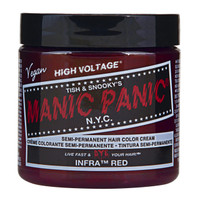 Manic Panic Infra Red Classic Semi-Permanent Hair Dye Color Cream 4 Oz