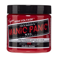 Manic Panic Cleo Rose Classic Semi-Permanent Hair Dye Color Cream 4 Oz
