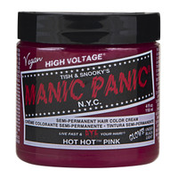 Manic Panic Hot Hot Pink Classic Semi-Permanent Hair Dye Color Cream 4 Oz