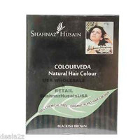 Colorveda 100% Organic Henna Indigo Hair Dye Blackish Brown