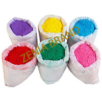 HOLI Colors 12 Lbs 6 colors (2lbs ea color) Powder Gulal Red Green Yellow Pink Blue Orange