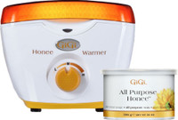 GiGi Professional Honee wax Warmer + 14oz All Purpose Honee Wax