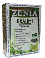100g Zenia Brahmi Powder Box