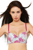Organic Antimicrobial Padded Wired T-shirt Bra ISB045