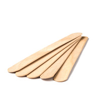 Zenia 100/pk LARGE  Wax Spatulas Waxing Sticks Wood Applicators