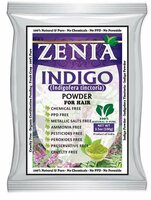 100g 2018  Crop Zenia Indigo Powder Natural Black Hair Dye