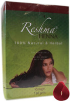 150g Reshma Natural Henna Powder Rouge Red
