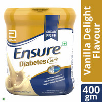 Abbott Ensure Sugar Free Diabetic Care 400g (Vanilla Delight Flavor)