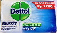 Dettol Anti Bakteri Active 70g
