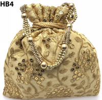 Indian Potli Batwa Bag Hand Crafted