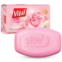 Vital Chiffon Feel Soap Bar Perfume Free Alcohol Free Halal