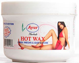 Ayur Herbals Hot Wax With Cellophane Strips