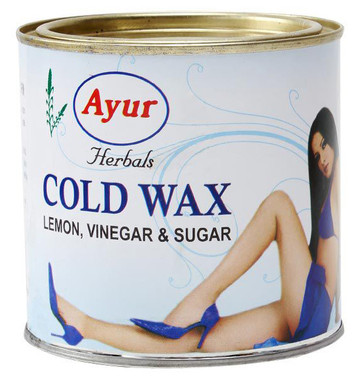 Ayur Herbals Cold Wax 600g Can