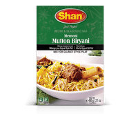 Shan Memoni Mutton Biryani Seasoning Mix 60 Grams