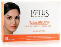 Lotus Herbals Natural Glow Facial Kit