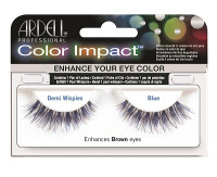Ardell Color Impact Demi Wispies Blue Eyelashes 61475