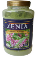 2 x 150g Zenia Indigo Powder Bottle Indigofera Tinctoria